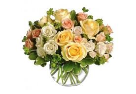 Lys Pastel - Roser og andre blomster